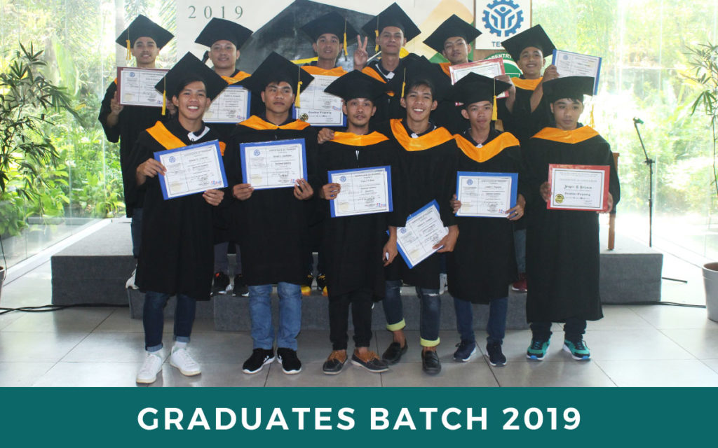 Focolare Carpentry Traning Center 2019 Graduates